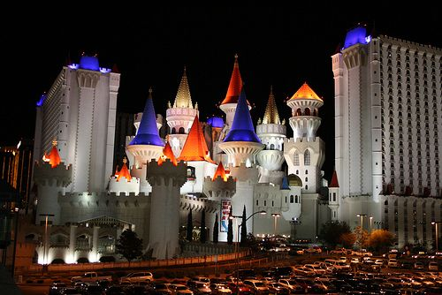 Las Vegas - Excalibur.... might be the stickiest place on earth.