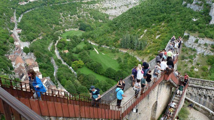 """La villa de las escaleras eternas, Rocamadour"""" width="""