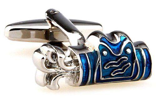 Golf Bag Blue Cufflinks with a Presentation Gift Box http://astore.amazon.com/ahoy-20/detail/B00O0XY78O