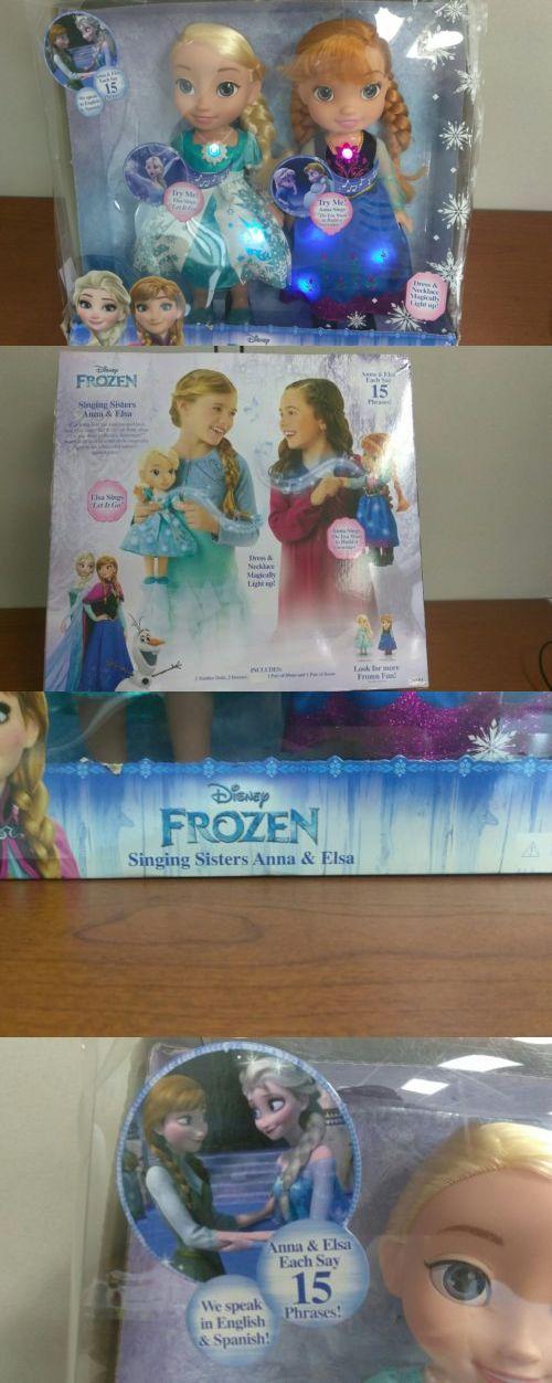 Disney Princesses 146030: Disney Frozen Singing Sisters Anna And Elsa - Hear Elsa Sing Let It Go -> BUY IT NOW ONLY: $35 on eBay!
