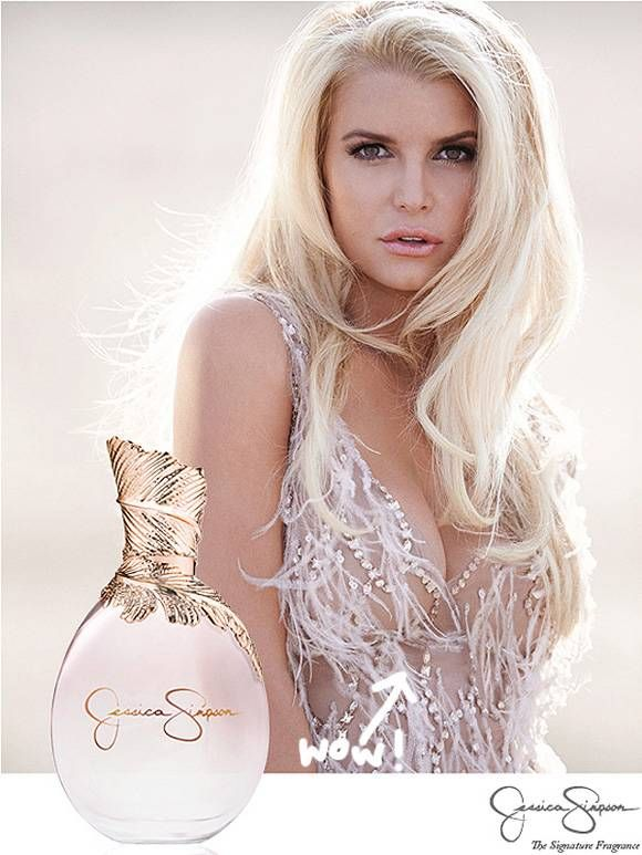 Jessica Simpson Debuts A Booby-ful Ad Campaign For Her New Self-Titled Fragrance!
