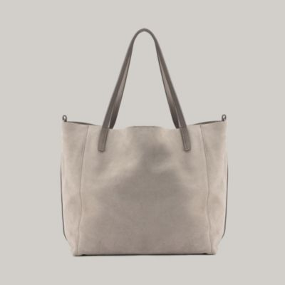 Contrast Strap Bag - Stone from The White Company #whitechristmaswishlist