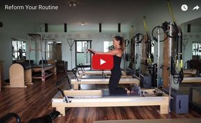 Courtney Miller gets creative on the Reformer for this exclusive video blog for pilatesstyle.com. In her first installment, she uses the resistance band to both challenge and support the body in a series that includes supine, kneeling and standing work.