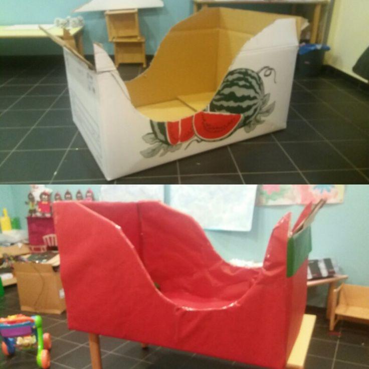 Slitta di Babbo Natale Giochi di cartone / Natale