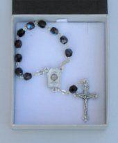 Handheld Lourdes Water Rosary.