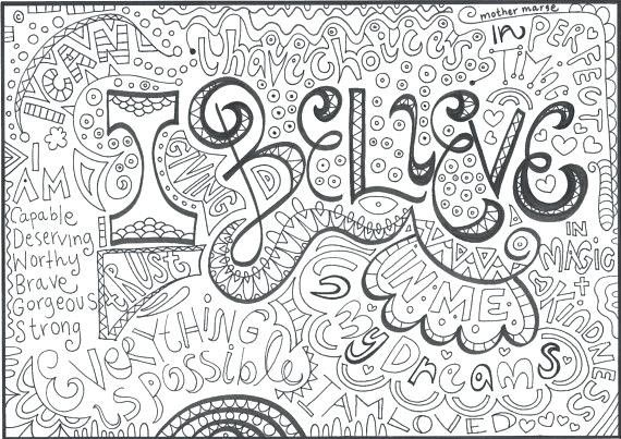 Luxury Adult Coloring Pages With Quotes Self Esteem Coloring Pages