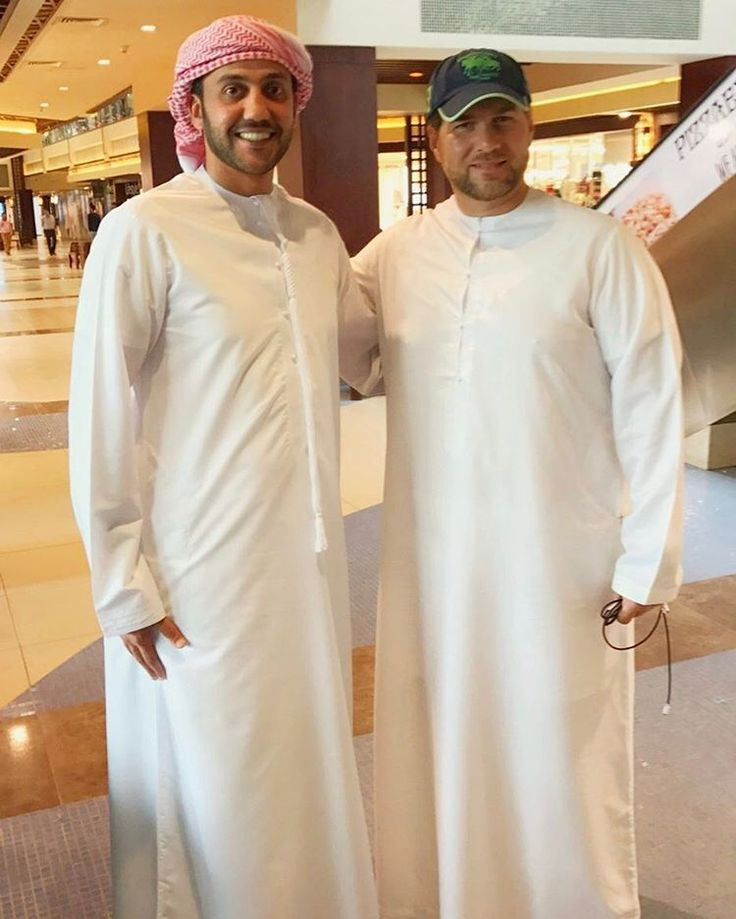 Mohammed bin Saud bin Khalid Al Qasimi y Marwan bin Mohammed bin Rashid Al Maktoum, 13/03/2017. Vía: mohdalqasimi