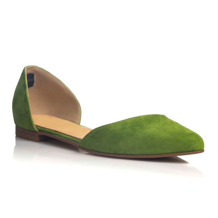 DARE TO WEAR >> Balerini Soft Green