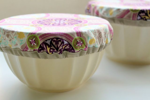 Cloth bowl covers(to use instead of plastic wrap)...look super easy to makeCovers Tutorials, Bowls Covers, Sewing Projects, Potlucks Bowls, Plastic Wraps, Pots Luck, Diy, Crafts, Fabrics Bowls
