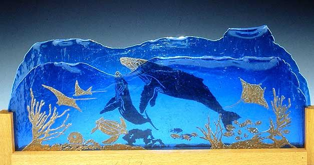 Cathy Claycomb's Fine Art Glass » Hidden Images 3-D
