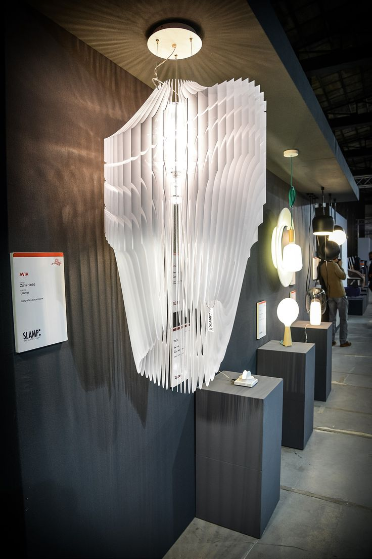 Avia, designed by #ZahaHadid for #Slamp, has been selected for the #Adi #Design Index 2014. The #exclusive #lamp, will be exhibited in #Rome (Ex #Cartier Latina) from monday the 17th till friday the 28th, is a# candidate for the next #CompassodOro.