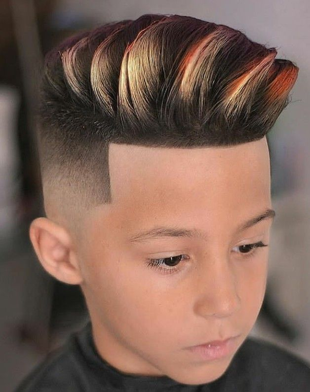Pin En Boys Hair