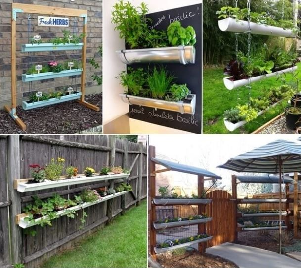 1. Un giardino in PVC Immagine via:shelterness,home bnc Se si desidera una decorazione appesa al portico della vostra casa allora si può creare