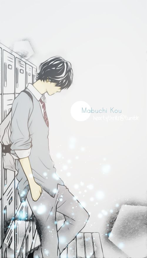 Kou - Ao Haru Ride Mabuchi Kou waiting for Futaba ♡ | hes my fav