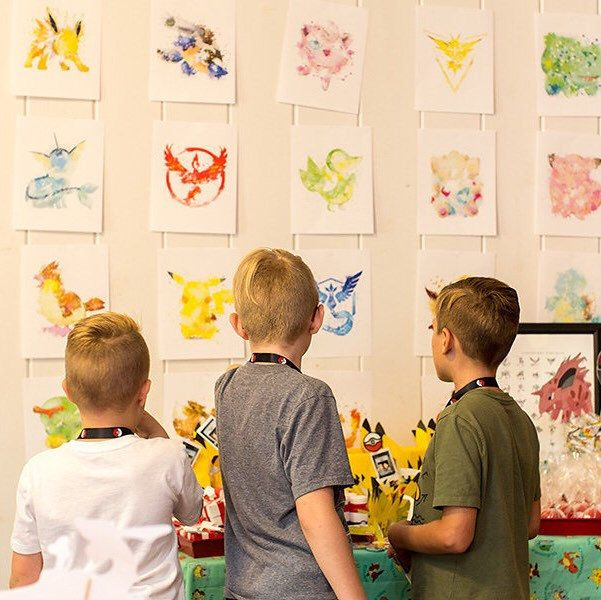 Sugarbirdesign is thrilled to be featured in the Pokemon Party of Scarlett from madeitateitlovedit.com The party was a hit!   Happy 7th Birthday Remington!   http://www.madeitateitlovedit.com/2017/08/pokemon-party.html?m=1
