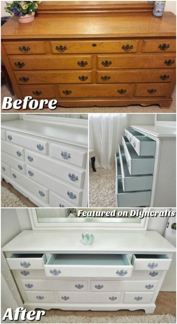 Les 24 meilleures images à propos de Remodeling sur Pinterest - comment peindre un vieux meuble