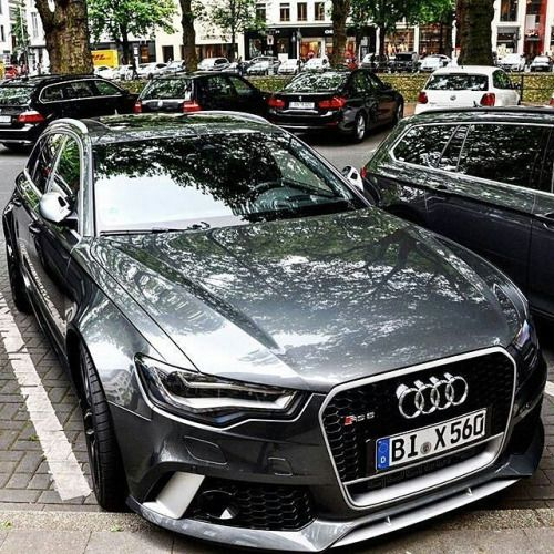 themanliness: Audi RS6! —- Photo by @mpcarphotography