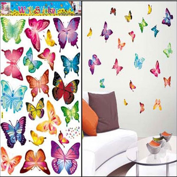 DIY Colorful Butterfly Art Wallpaper Decor Wall Stickers Decals Part 72