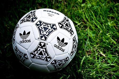 Adidas Azteca match ball.