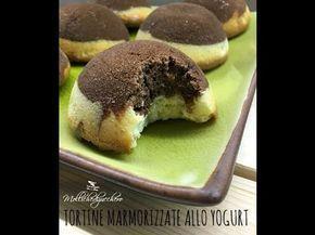 Tortine marmorizzate allo yogurt - Mollichedizucchero