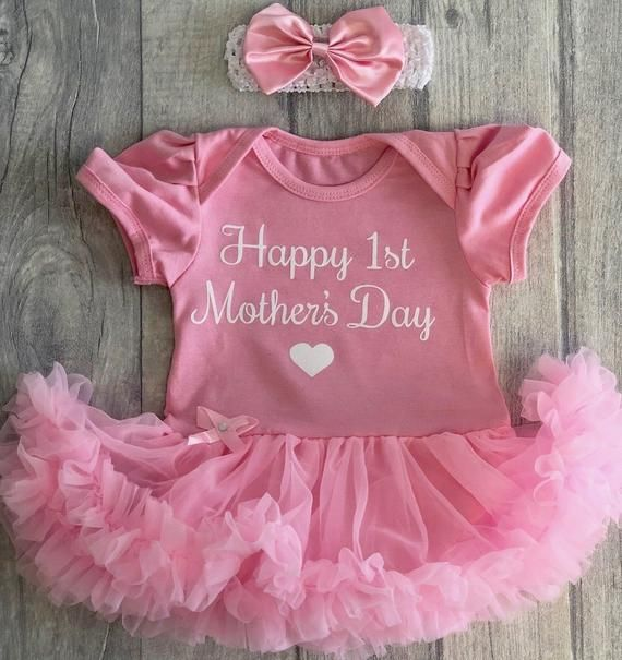 baby girl First Mothers day 1st Mothers Day Girls first Mothers Day outfit Girls 1st Mothers day outfit Baby girl Mother/'s Day outfit