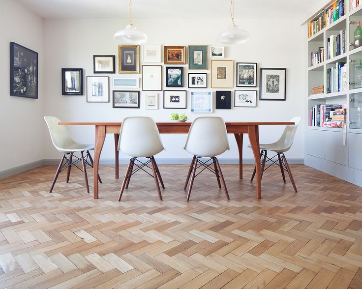 Reclaimed English Oak Herringbone: Timeless, prime grade, cost effective, elegant and one of our most popular products. We only purchase reclaimed block flooring of the highest quality in big quantities, this is important because there is an abundance of reclaimed block flooring on the market that is just impossible to fit! We advise our clients...