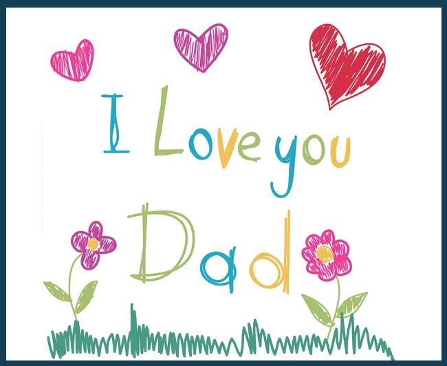 """""""I Love You Dad"""" card #FathersDay  Wundervolle Karte.Schön solche Momente"""
