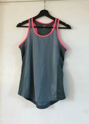 Koop mijn artikel op #vinted http://www.vinted.nl/dameskleding/topjes-en-t-shirts/222291-grijze-mouwloze-hm-hardlooptop