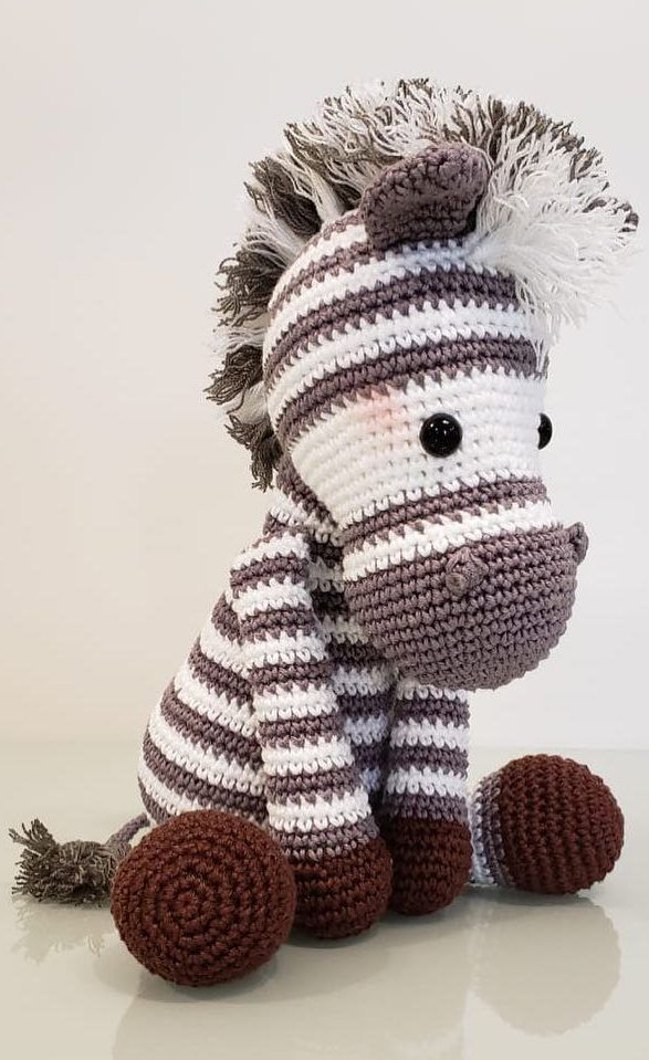 Zebra Amigurumi Doll: Free Crochet Pattern! | HubPages | 959x587
