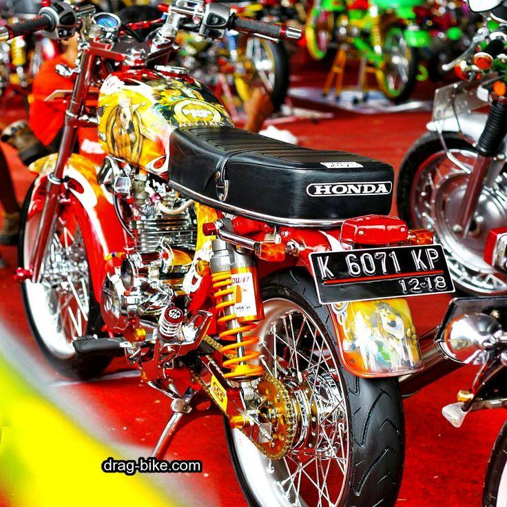 modifikasi motor cb paling bagus Honda cb, Cafe racer, Honda