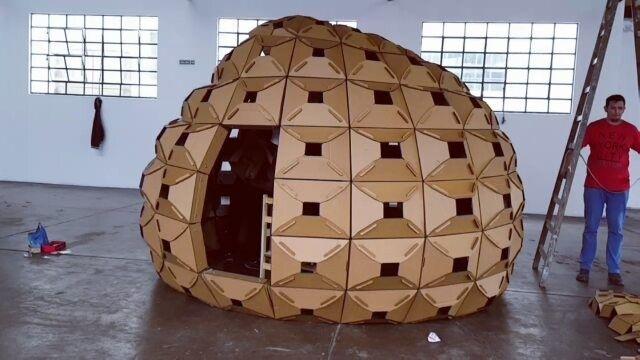 Ya casi.. #furetzu #installation #chela @tamaco_chela @kaphend #parametricdesign #grasshopper3d #digitalfabrication #lasercutting #workshop #timelapse #samsung #s6edge #galaxys6