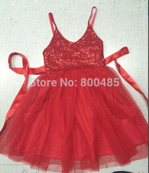 Find More Dresses Information about 5pcs/lot Wholesale Christmas children shining Dress girls Sequins Princess Dress  5pcs/lot pink purple blue red,High Quality Dresses from Leader international trade company on Aliexpress.com