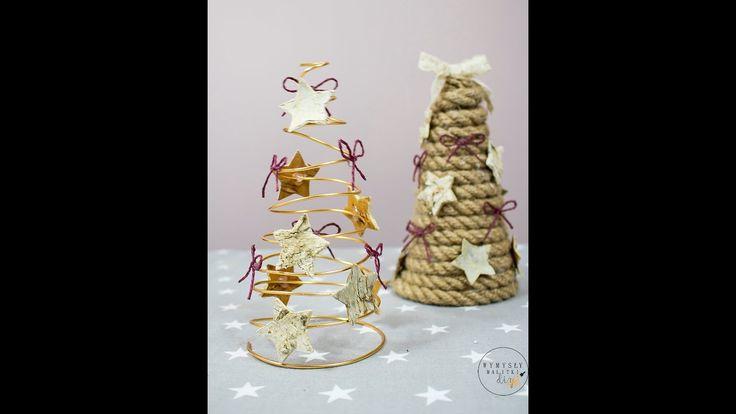 Choinka na dwa sposoby. Jak zrobić choinkę? DIY Christmas tree.