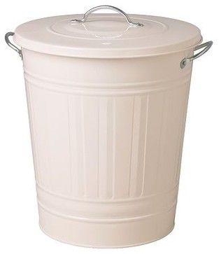 KNODD Bin with lid - modern - kitchen trash cans - IKEA
