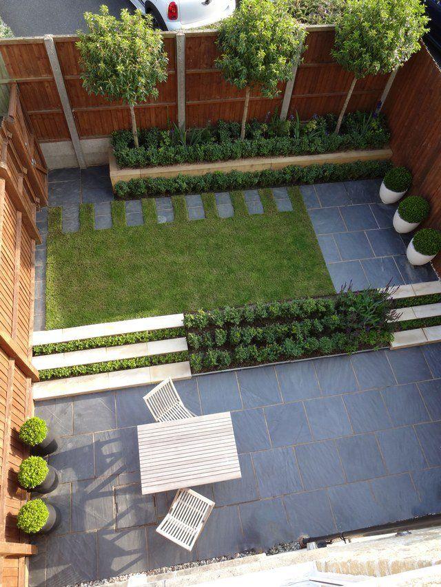 8 Cute Small Gardens And Outdoor Spaces Small Backyard Landscaping Garden Design Modern Landscaping