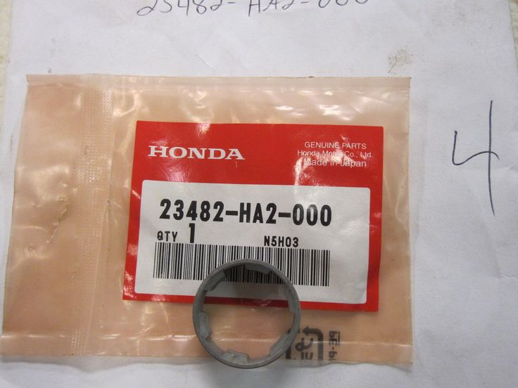 NOS Honda 23482-HA2-000 TRANSMISSION MAINSHAFT FIFTH GEAR COLLAR ATC250R TRX250R