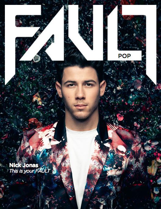 Nick Jonas Photoshoot for FAULT Magazine.