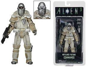 "NECA Aliens Scale Series 8 Weyland-Yutani Commando Alien Action Figure- 7"""