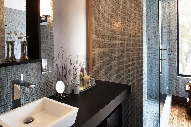 Warm Brown Earth-tone Mosaic Tiles