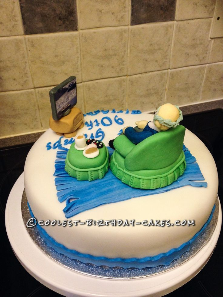 Awesome 90th Birthday Cake... This website is the Pinterest of birthday cake ideas