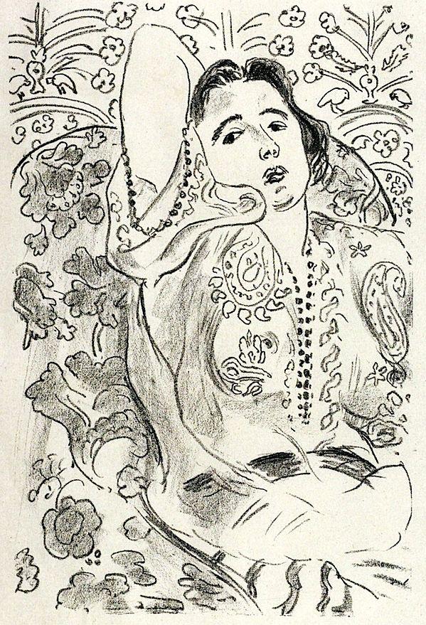 Arabesque / Henri Matisse - 1924