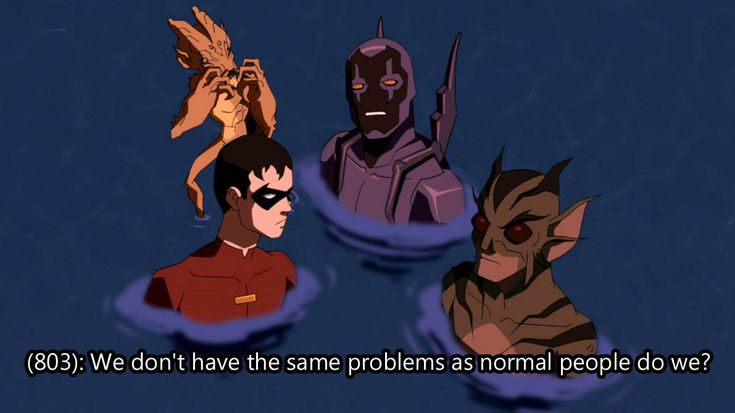 "Texts from ""Texts from Last Night"" mashed with screenshots of Young Justice. New pictures posted..."