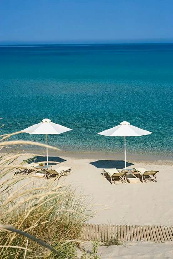 Bousoulas beach, Sani resort, Chalkidiki,  Greece