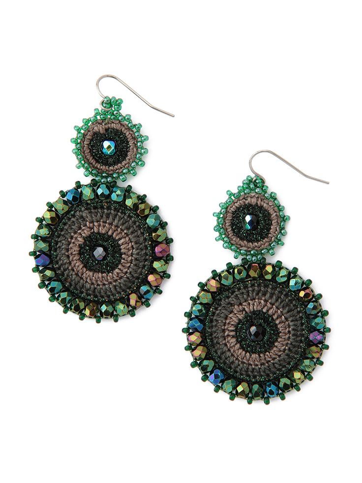 UTZ crochet earrings