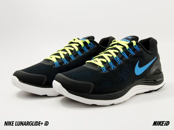 7066d787a95 ... Nike LunarGlide+ 4 Sneakers Pinterest Nike lunarglide and Air ...