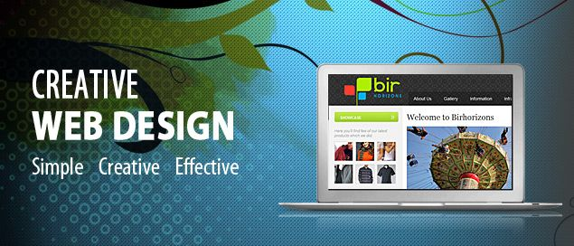 Responsive web designing and development services at affordable rates.