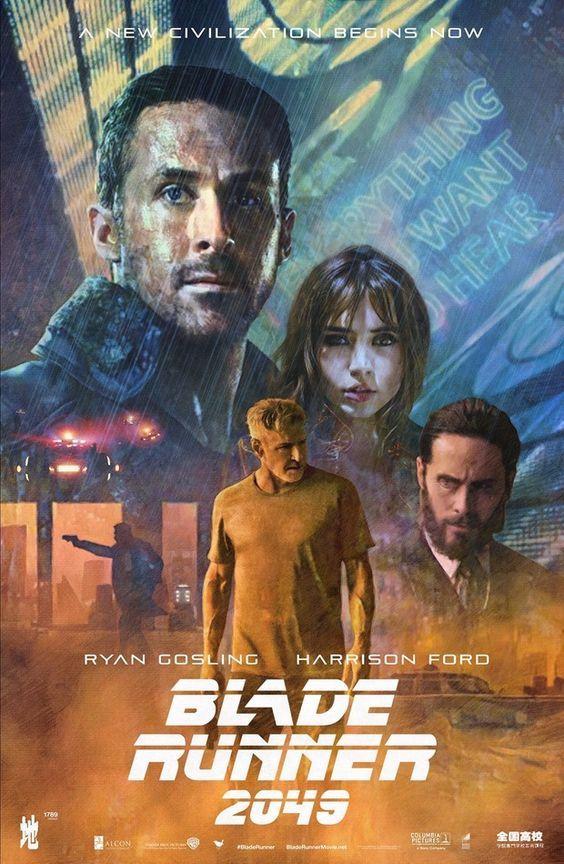 Blade Runner Art, Blade Runner 2049, Sci Fi Movies, Good Movies, Indie Movies, Action Movies, Cyberpunk, Denis Villeneuve, Plus Tv