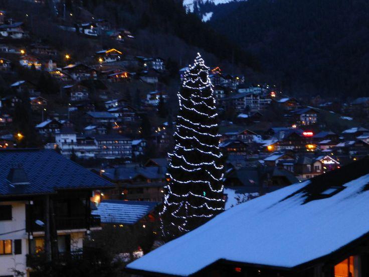 Christmas Tree Morzine 2013