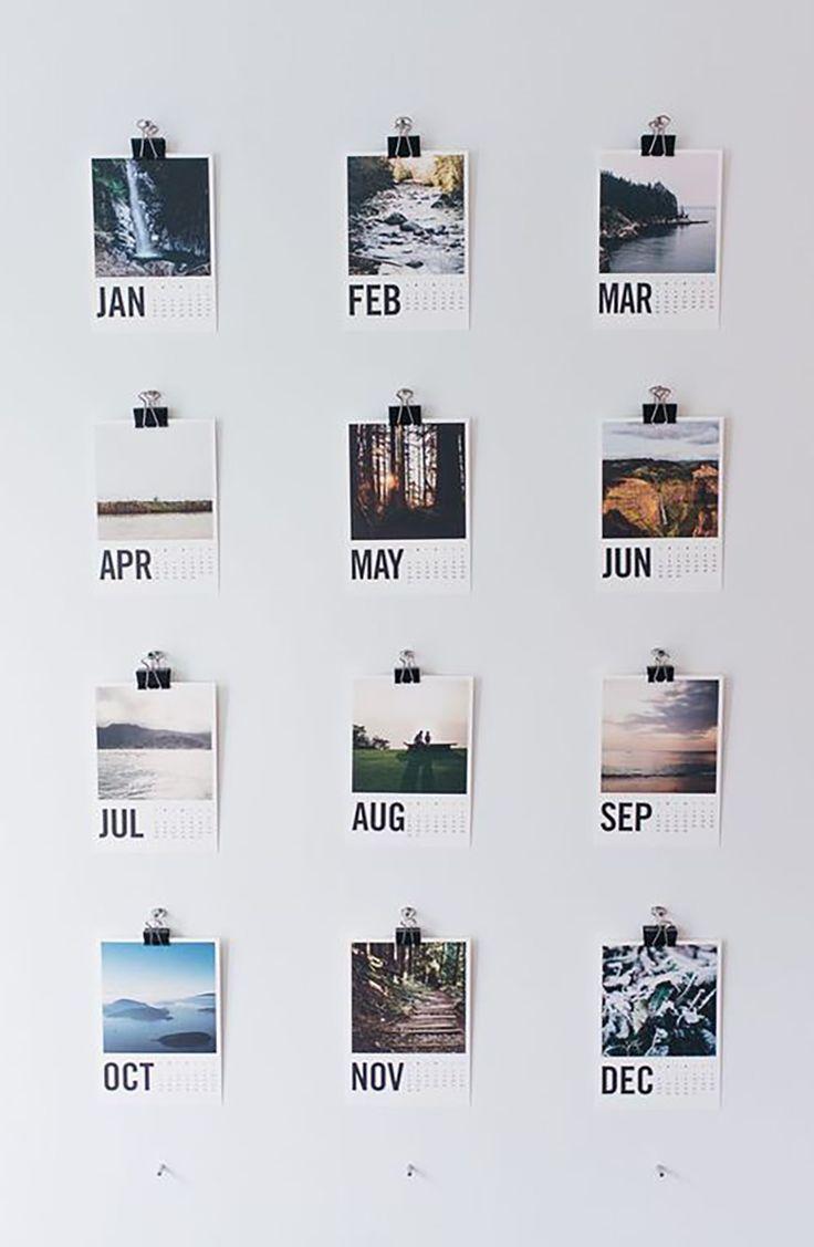 DIY Mini Karte Kalender