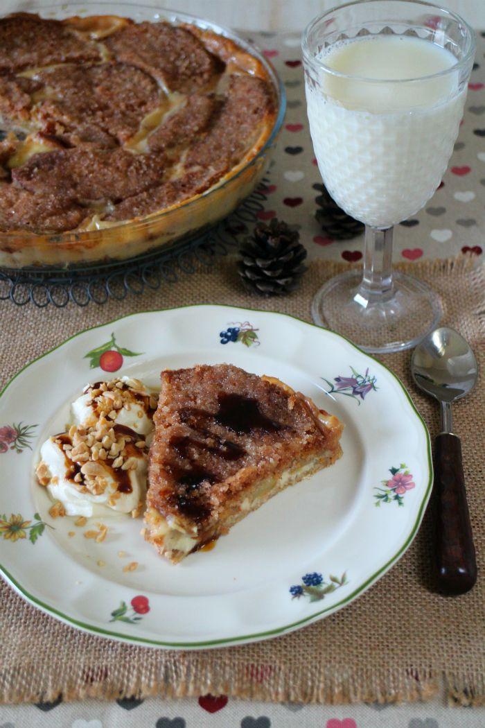 Receta   Thin-tarta de queso crema y manzanas - canalcocina.es